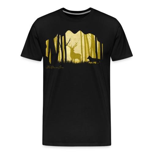 PaperCut - The Golden Stag - T-Shirt - Männer Premium T-Shirt