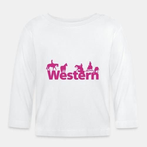 Westernsports Silhouetten Baby-Langarmshirt - Baby Langarmshirt