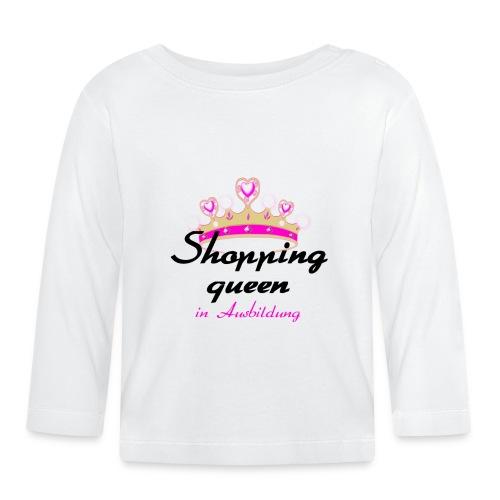 """Shirt """"Shoppingqueen"""" - Baby Langarmshirt"""