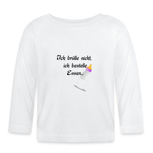 """Shirt """"Essen"""" - Baby Langarmshirt"""