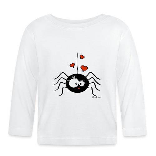 T-shirt ml Bébé Araignée Halloween Party (fille) - T-shirt manches longues Bébé