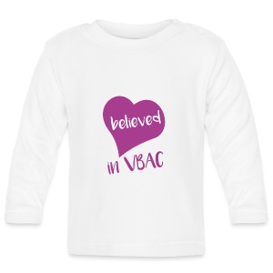 Believed in VBAC long sleeved top - Baby Long Sleeve T-Shirt