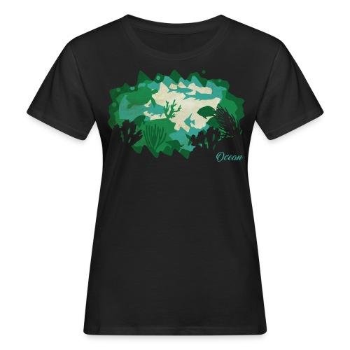 PaperCut – Ocean – T-Shirt - Frauen Bio-T-Shirt