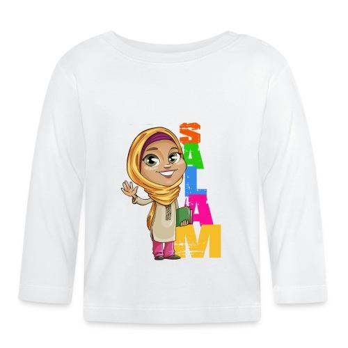 SALAM N°3 Féminin manche longue - T-shirt manches longues Bébé