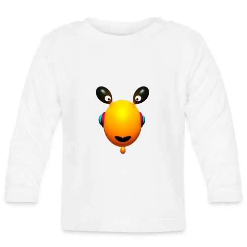 Tee shirt bébé Toothies Yellow - T-shirt manches longues Bébé