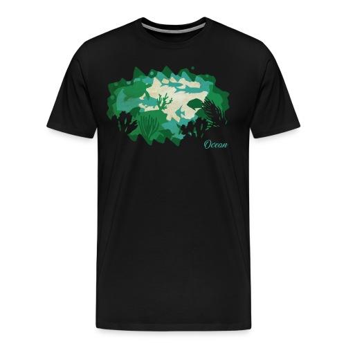 PaperCut – Ocean – T-Shirt - Männer Premium T-Shirt