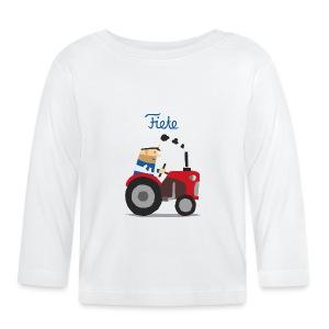 'Farm' Fiete Baby Longsleeve - white - Baby Langarmshirt