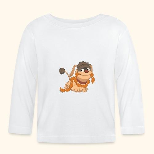 Baby Langarmshirt Moppi mit Wurst - Baby Langarmshirt