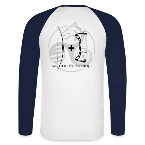 Tshirt manches longues JC - T-shirt baseball manches longues Homme