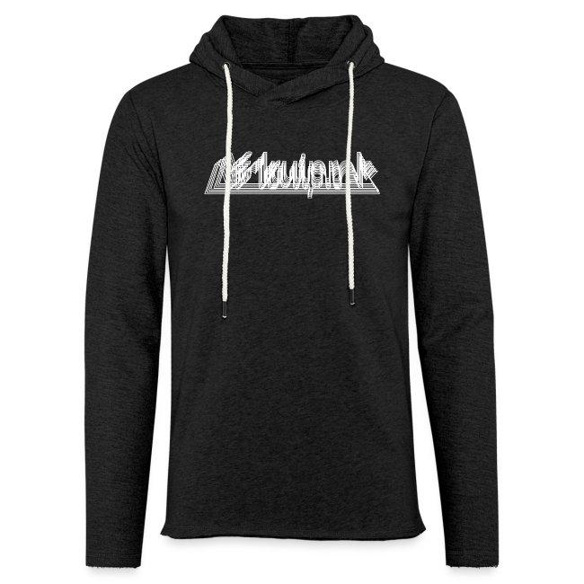 Afdruiprek unisex lichte hoodie
