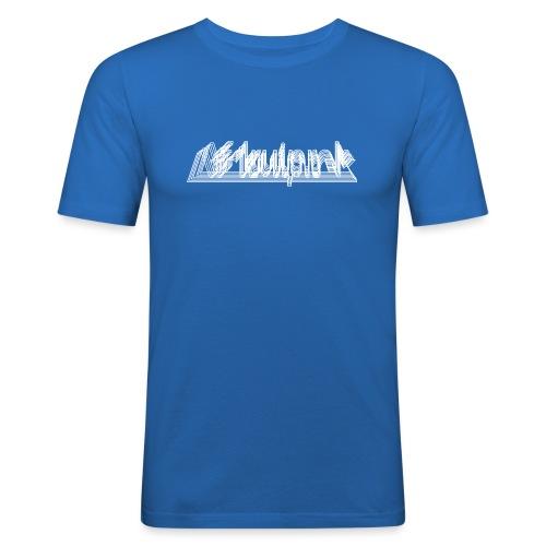 Afdruiprek mannen slimfit - slim fit T-shirt