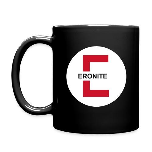 Eronite-Tasse schwarz - Tasse einfarbig