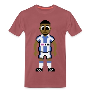 Nahki Wells Pixel Art T-shirt - Men's Premium T-Shirt