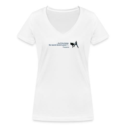 T-shirt - Fraissinet - Petit Con - T-shirt bio col V Stanley & Stella Femme