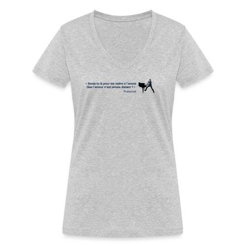 T-shirt - Fraissinet - Le Voyageur - T-shirt bio col V Stanley & Stella Femme