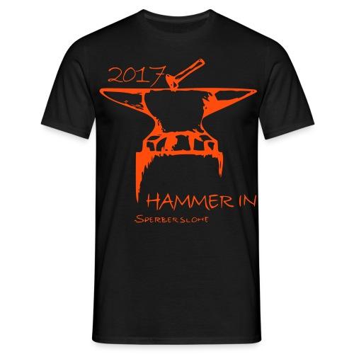 HAMMER IN Shirt 2017 (Männer) - Männer T-Shirt