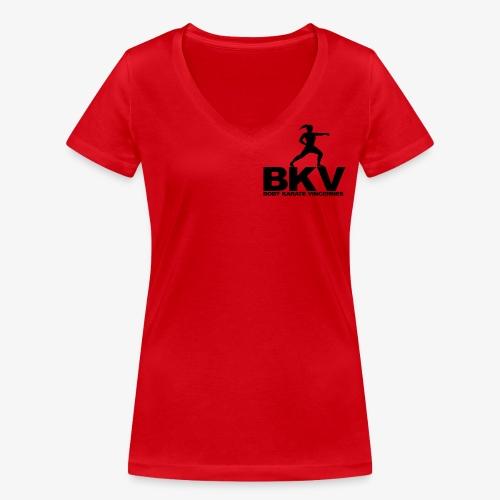 VINRECH CLOTHING - BKV Houlgate 2 - femme - T-shirt bio col V Stanley & Stella Femme