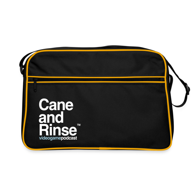 Cane and Rinse logo retro bag