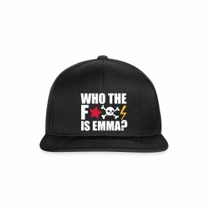 Who the fuck is Emma? - Cap - Snapback Cap