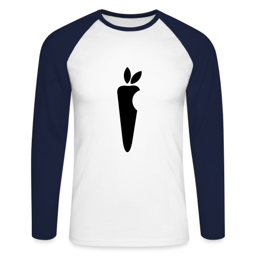 la carotte - T-shirt baseball manches longues Homme