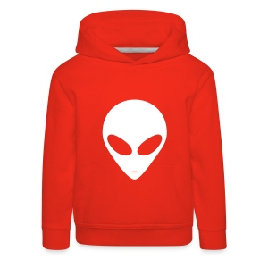 Hettegenser barn - Alien - Premium Barne-hettegenser