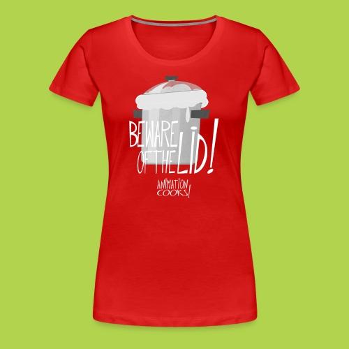 Beware Of The Lid - Female - Xmas Limited Edition - Maglietta Premium da donna