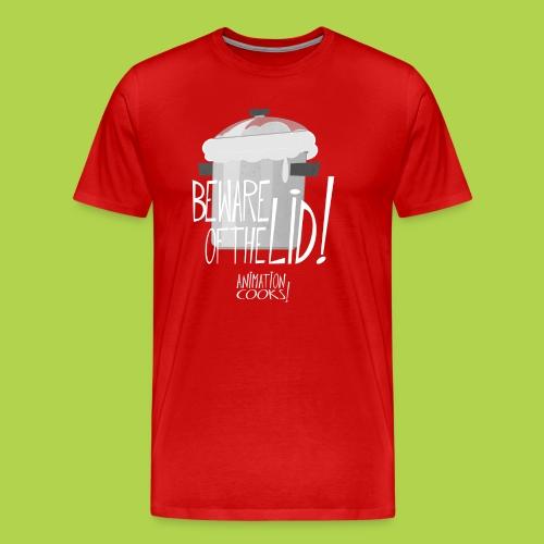 Beware Of The Lid - Christmas Limited Edition Male - Maglietta Premium da uomo