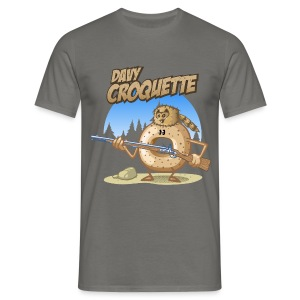 Davy croquette - T-shirt Homme