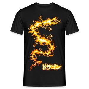 Dragon de feu - T-shirt Homme