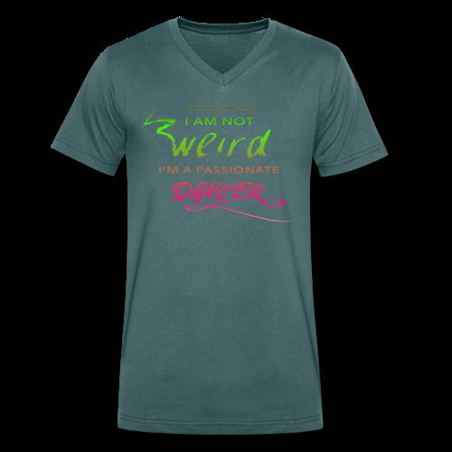 !Weird? - Men's Organic V-Neck T-Shirt by Stanley & Stella