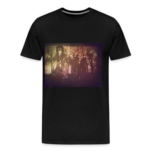 S.H.O.U.T Band T-Shirt 2017  - Miesten premium t-paita