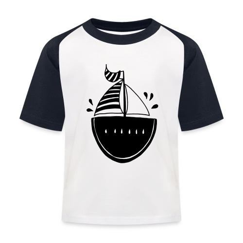 Melonen Kinder T-Shirt  - Kinder Baseball T-Shirt