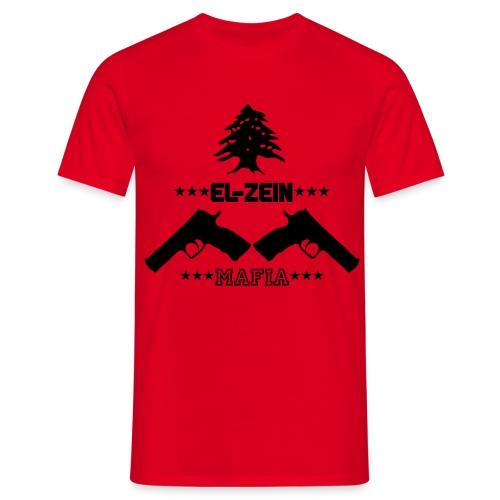 T-shirt El-Zein black - Männer T-Shirt