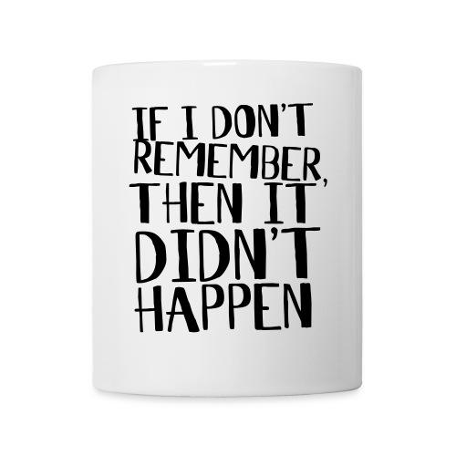remember mug - Mug