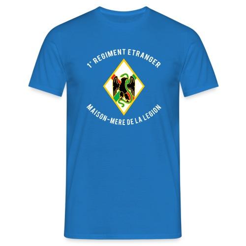 1er RE - Regiment Etranger - T-shirt - Men's T-Shirt