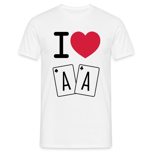 I love AA - T-shirt Homme
