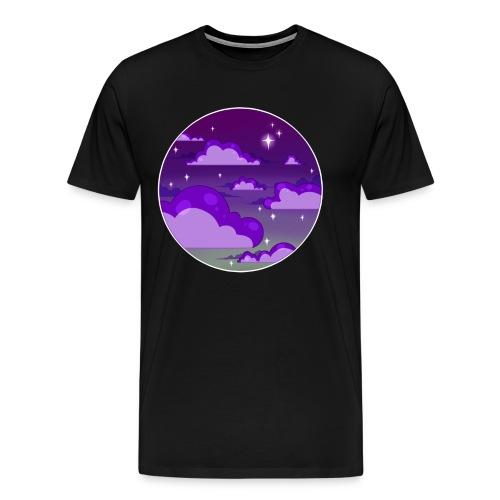 Night Sky - Tshirt  - Men's Premium T-Shirt