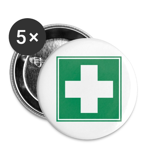 First Aider Button - Medium - Buttons medium 1.26/32 mm (5-pack)