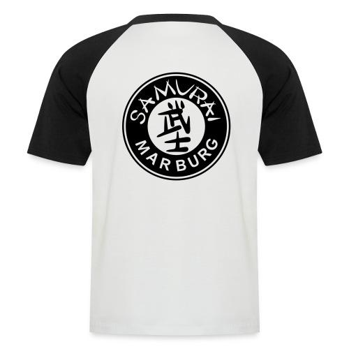 Individualisiertes Unisex T-Shirt Logo schwarz   - Männer Baseball-T-Shirt