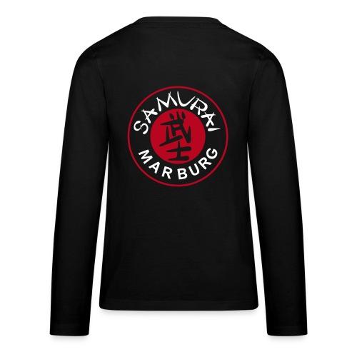 Teenager Langarmshirt schwarz - Teenager Premium Langarmshirt