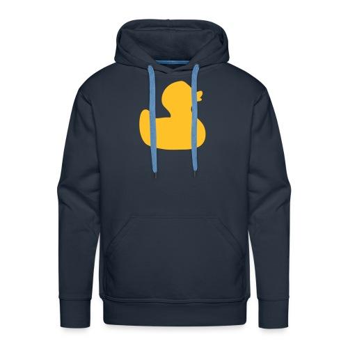 duckie on my hoodie - Men's Premium Hoodie