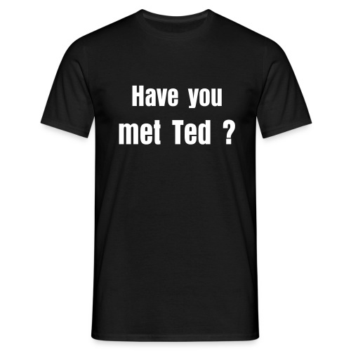Ted's shirt - T-shirt Homme