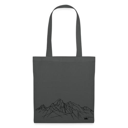 Stoffbeutel Gebirge  - Stoffbeutel