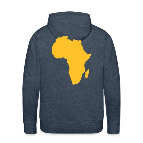 Felpa SebAfrica - Felpa con cappuccio premium da uomo