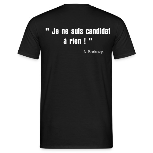 candidat - T-shirt Homme