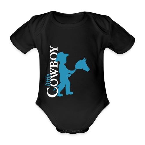 Little Cowboy S - Body - Baby Bio-Kurzarm-Body