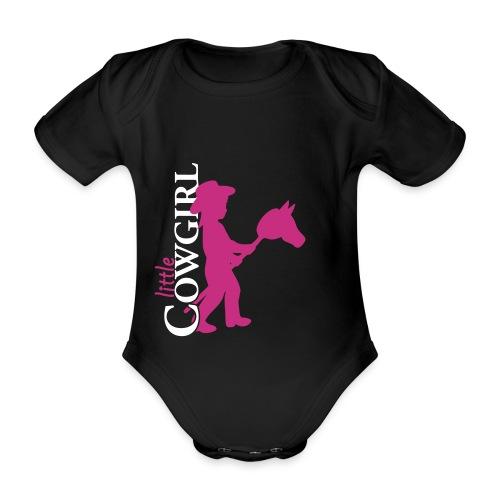 Little Cowgirl S - Body - Baby Bio-Kurzarm-Body
