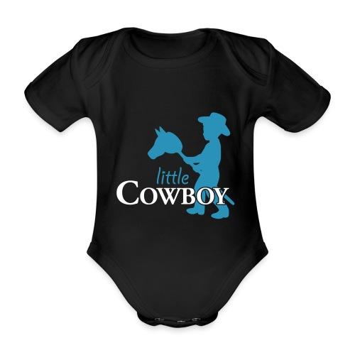 Little Cowboy W - Body - Baby Bio-Kurzarm-Body