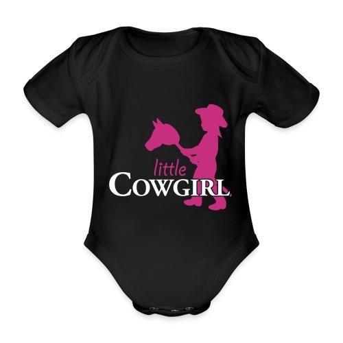 Little Cowgirl W - Body - Baby Bio-Kurzarm-Body