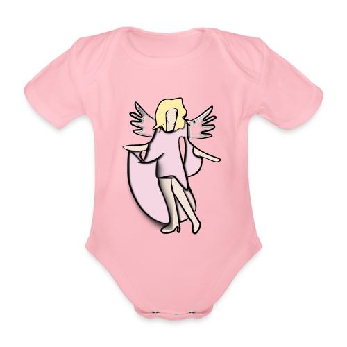 Body-Engel - Baby Bio-Kurzarm-Body